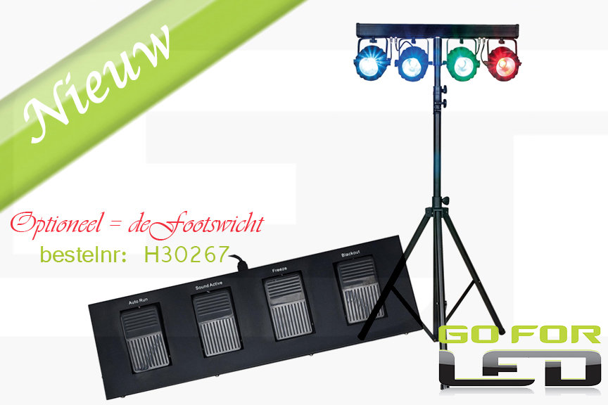Showtec Compacte power lightset