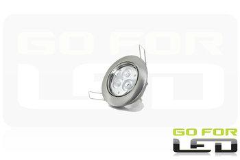 Inbouw armatuur inclusief dimbare LEDlamp 4Watt