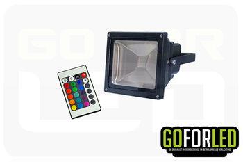 RGB bouwlamp 30Watt incl. afstandsbediening