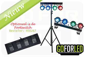 Showtec compact power lightset