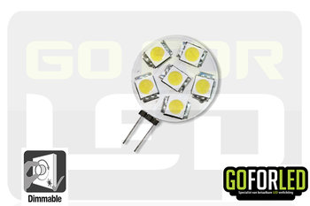 G4 dimbaar LEDlampje warm wit 1,2Watt