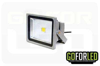 Nova bouwlamp - breedstraler warm wit 20w