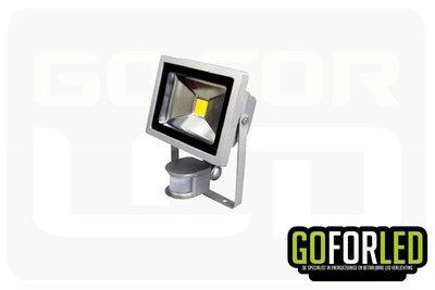 Nova bouwlamp met sensor