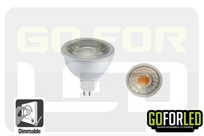 Dimbare spot 6Watt COB LED warm wit 2800K