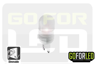G9 dimbaar steeklampje warm wit 1,5Watt
