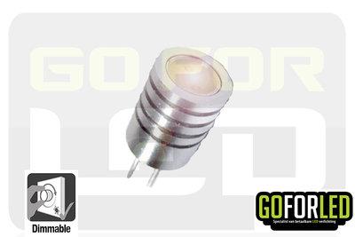 G4 dimbaar steeklampje warm wit 1,5Watt  COB LED